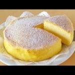 材料はたったの3つ!日本人が考案したスフレチーズケーキが海外で大ブームに!!