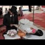 結婚式の前日に事故で亡くなった最愛の彼女との結婚式が放映され、視聴者号泣…