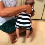 生後5ヶ月までしか見られない!赤ちゃんの可愛すぎる反応「ギャラン反射」