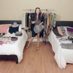 女優さんから学ぶ小型スーツケースに100個のアイテムを収納する方法