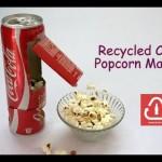 これは楽しい!コーラの空き缶で手作りポップコーンメーカーに挑戦♪