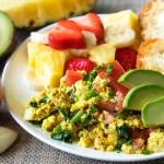 極上の美味しさで体にも優しい!卵を使わずに作るスクランブルエッグ♪