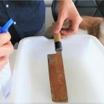 職人技!錆びた日本包丁がピカピカに研ぎ上げられる動画が海外で大人気に