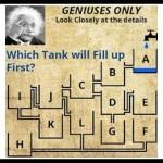 【超難問】これが解けたら天才!?最初に満杯になるタンクはどれ?