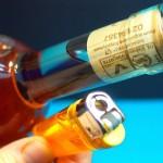 目からウロコ…ライター1本でワインのコルクを抜く方法♪