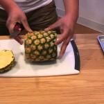 果物屋さん直伝!とっても簡単で食べやすくなる便利なパイナップルの切り方♪